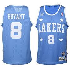 lakers light blue jersey amazon com kobe bryant los angeles lakers youth hardwood classics