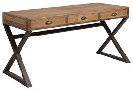 Rustic Writing Desk by X Base Desk Industrial Imperfect Look Rustic Desks And