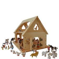 Toy Barn With Farm Animals Best 25 Wooden Toy Barn Ideas On Pinterest