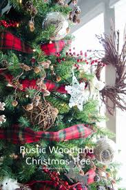 best 25 rustic christmas tree decorations ideas on pinterest