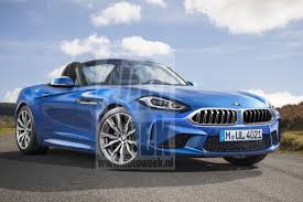Bmw Z5 Price First G29 Z4 Roadster Prototype Spied Returns To The Soft Top