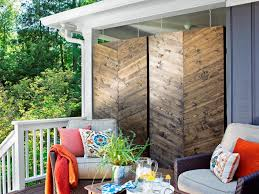 Small Backyard Deck Patio Ideas Backyard Privacy Ideas Hgtv