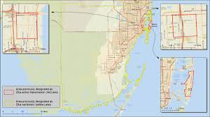 West Coast Of Florida Map by South Florida Maps Zika Virus Cdc