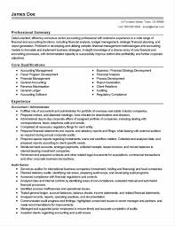 Good Resume Format For Experienced Accountant 100 Resume Sample For General Accountant Paraeducator