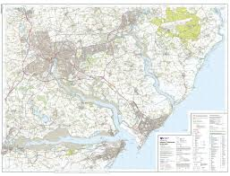 Essex County Map Paper Laminated Explorer 101 Isles Of Scilly
