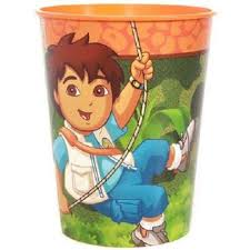diego large plastic cup diego party supplies