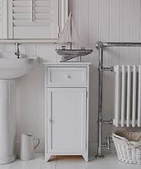 Freestanding Bathroom Furniture White Slim Narrow 20cm Bathroom Storage Moving Ideas Pinterest