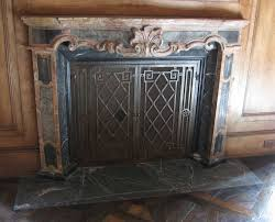 wrought iron fireplace screens product u2014 home ideas collection