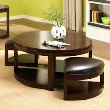 Coffee Table With Nesting Stools - coffee tables storage cube coffee table round coffee table with