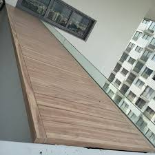 wood grain aluminium trellis u0026 planters decking spacedor