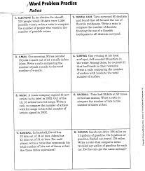 proportion word problems worksheets worksheets reviewrevitol