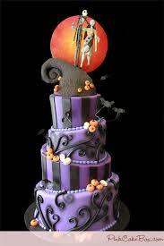 nightmare before wedding cake cakes