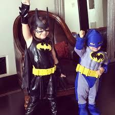 batman kids halloween costume mario lopez u0027s kids wearing superhero costumes instagram popsugar