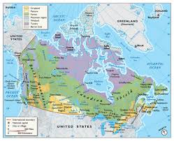 A Map Of Canada by Map Hero Map Illustration U0026 Design