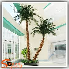 nearly realistic artificial palm trees sale make plastic