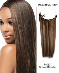 uniwigs halo wavy medium brown hair extentions 16 4 27 brown blonde straight flip in human hair extensions 100