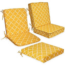 enhance outdoor seat cushion collection in yellow bed bath u0026 beyond