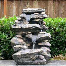Decorative Water Fountains For Home by Brilliant Decorative Outdoor Fountains Details About 2 Tier