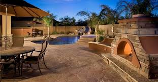 Backyard Concrete Ideas Decorative Concrete Ideas For Beautiful Concrete Surfaces The