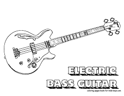 guitar coloring pages 3915