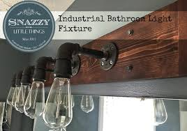 Bathroom Light Fixture Industrial Bathroom Light