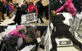uk black friday video black friday the day the uk went mad for shopping telegraph