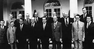 John F Kennedy Cabinet Members The Nixon Cabinet 1968 Donald Rumsfeld John Volpe Peter