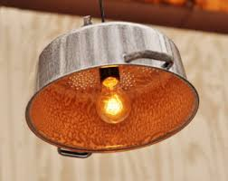 Vintage Kitchen Light Fixtures by Colander Light Etsy
