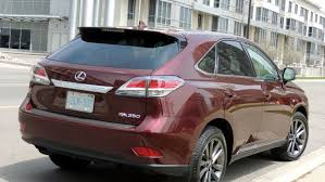 lexus 350 suv 2014 lexus rx 350 2014 review practicality with panache in wheels ca