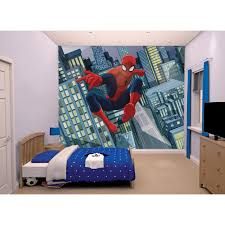 walltastic spiderman wallpaper mural 8ft x 10ft kiddicare com friend s email address