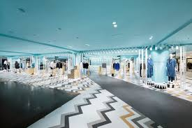 Shop In Shop Interior Designs by Nendo U0027s Women U0027s Department In Japanese Store Design Milk