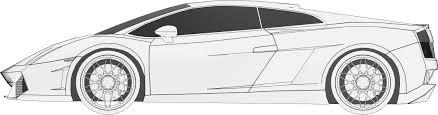 sketch of lamborghini gallardo lamborghini gallardo 3d model racing cgtrader