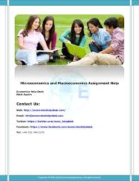 Assignmenthelp      assignment help service Microeconomics and macroeconomics assignment help Service Microeconomics and Macroeconomics Assignment Help Economics Help