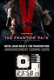 Metal Gear Solid Meme - big metal gear solid v the phantom pain announcement coming