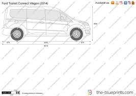 the blueprints com vector drawing ford transit connect wagon