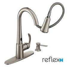 motionsense delaney pulldown kitchen faucet w spot resist 87359esrs