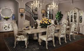 Luxury Dining Room Furniture Interior Luxury Vintage Dining Room With Victorian Dining Set And