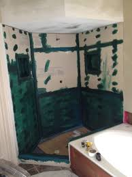 Bathroom Construction Steps Custom Shower Construction Shower Remodel Austin Tx South