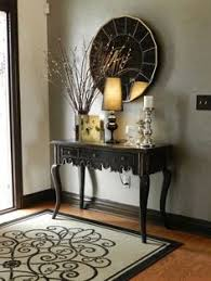 black entry hall table when she told us she spent just 5 on this entryway makeover we