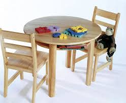 Kids Round Table And Chairs Child U0027s Round Table By Lipper