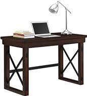 Veneer Desk Ameriwood Furniture Altra Furniture Rustic Desk With Metal Frame