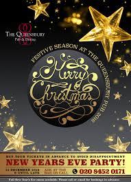 festive season the queensbury pub u0026 restaurant u2013 willesden green nw2