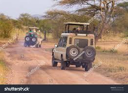 Open Roof 4x4 Safari Jeeps On Stock Photo 273724184 Shutterstock