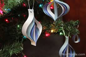 craft cottage fashioned paper ornaments