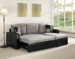 grey fabric modern living room sectional sofa w wooden legs grey fabric black vinyl modern sectional sofa w storage small but