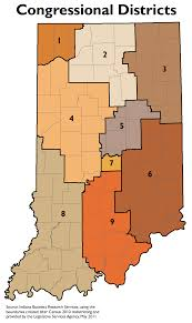 Indiana Zip Code Map Legislative Redistricting Topic Page Stats Indiana