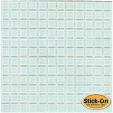 StoneSkin Dolomite And Grey Marble Peel N Stick Mosaic Tile - Peel and stick backsplash glass tiles