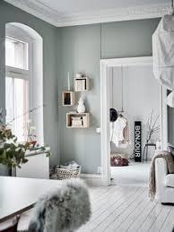 chambre gris vert le vert de gris tendance couleur une couleur douce pour le