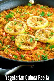 cuisine vegan vegan gluten free quinoa paella may i that recipe