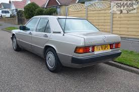 mercedes classic car mercedes 190e auto 1989 south western vehicle auctions ltd